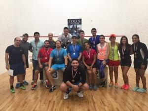 Jugadores Squash Body Shop Santiago