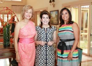 Matilde de Farach, Maritza Bonetti y Gema Hidalgo