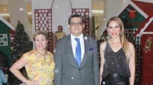 Michelle Selman, Magnolia Kasse y Mario Barrundia (2)