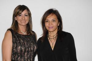 Nancy de Báez y María Del Carmen Vieites