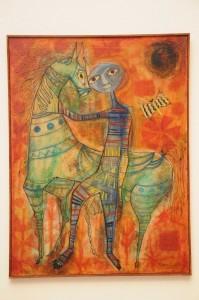 """Obra """"Sin título"""", de la artista Clara Ledesma."""