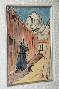 """Obra """"Sin título"""", del artista José Gausachs"""