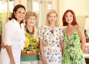 Rosanna Rivera, Rosalía Caro, Susana Caro y Lisette Trepaud