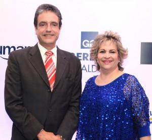 Tony Sánchez y Alexandra Izquierdo. 2