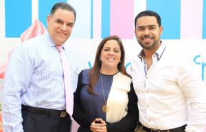 Foto 3 - José Fernández, Carolina Pantaleón y Roberto Caraballo.