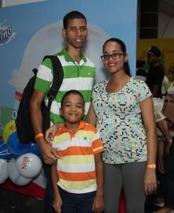 Foto 6 - Rubén Acosta, Daniella Abreu y Vicent Sandoval.