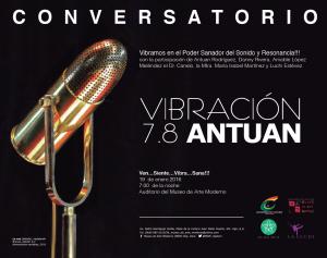 Invitación Conversatorio ANTUAN 2016- MAM
