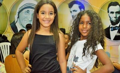 Karen Diaz y Ashley Cedeño