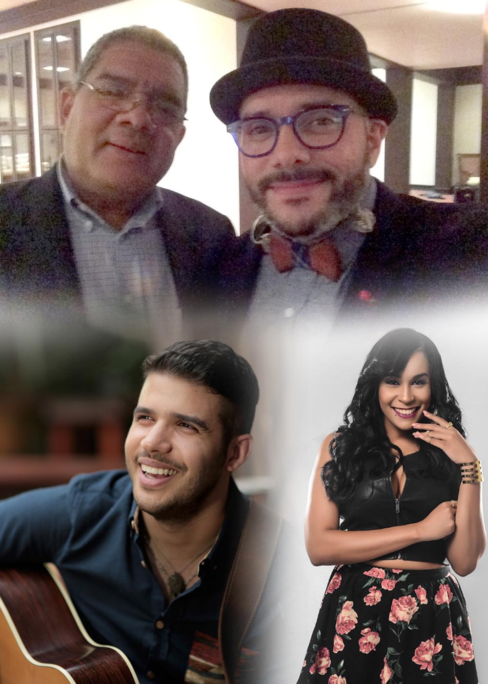 1.- Invitados de Pavel - El Pollo, Pamel y Kiara Franco