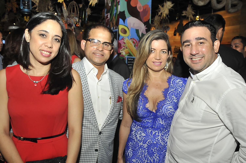 15.-Carolina Vasallo, Juan Nuñez, Priscila Boracini y Milton Cordero
