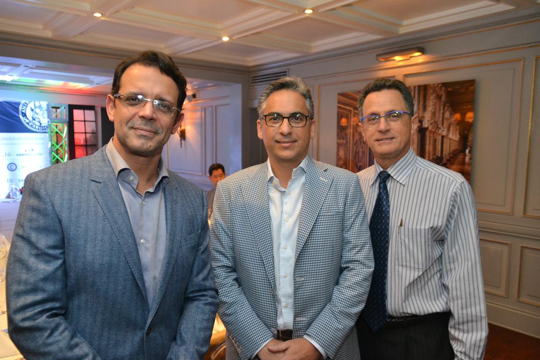 Pedro Ureña, Pavel García y Percio López