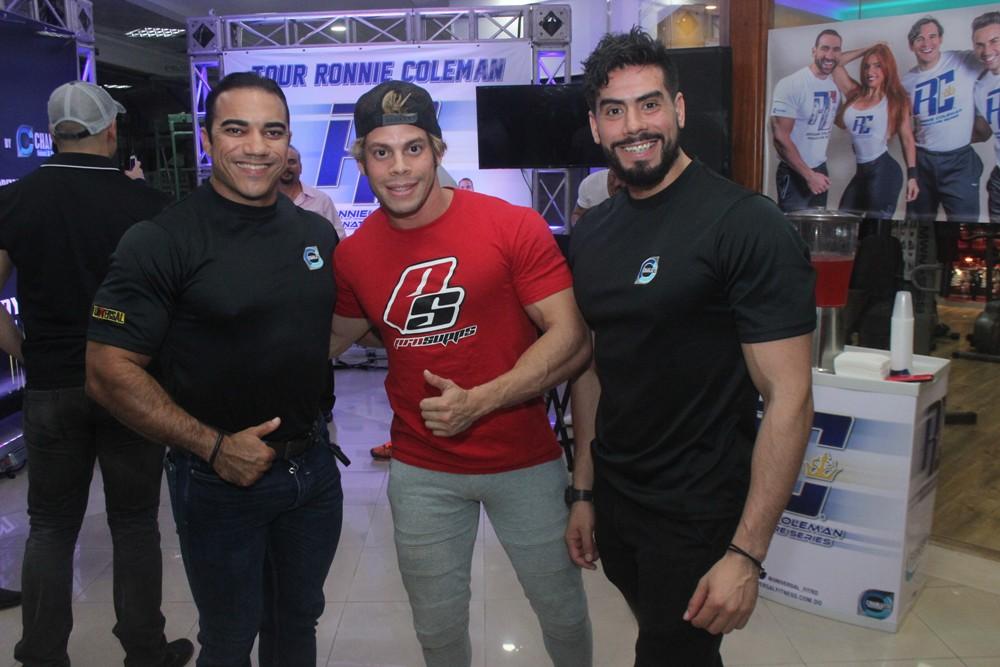 Puro Suarez, Miguel Almonte y Martin Sanchez (2)
