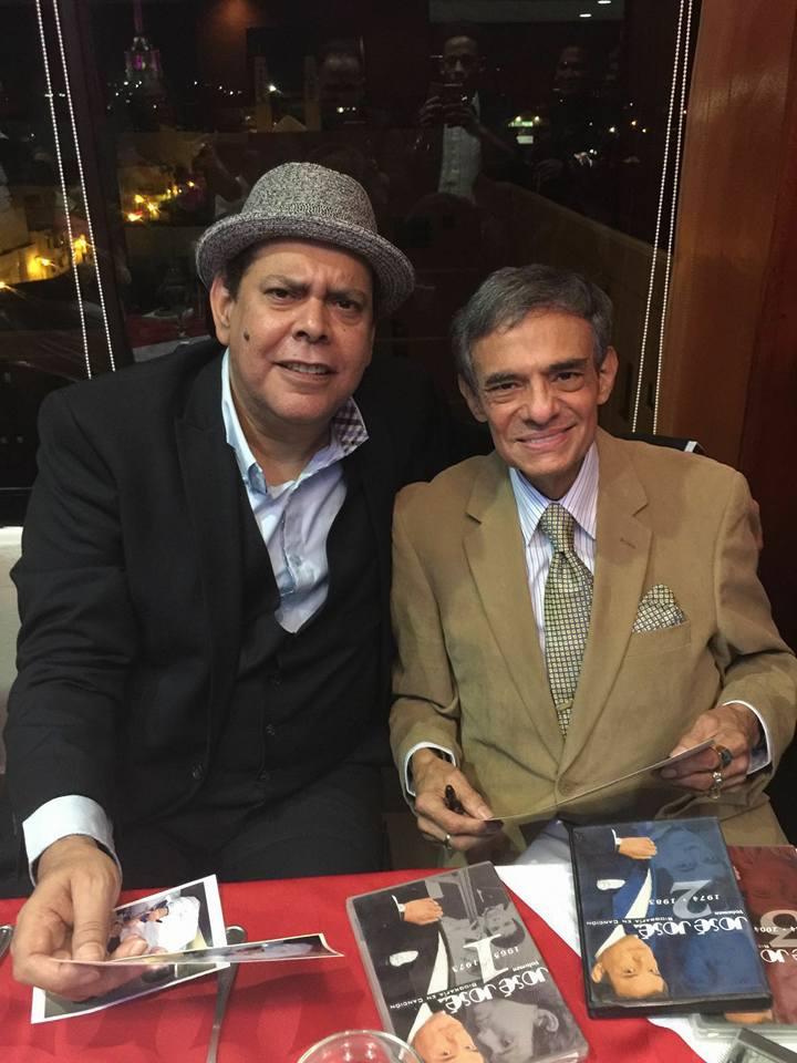 Villalona y José José 68 años