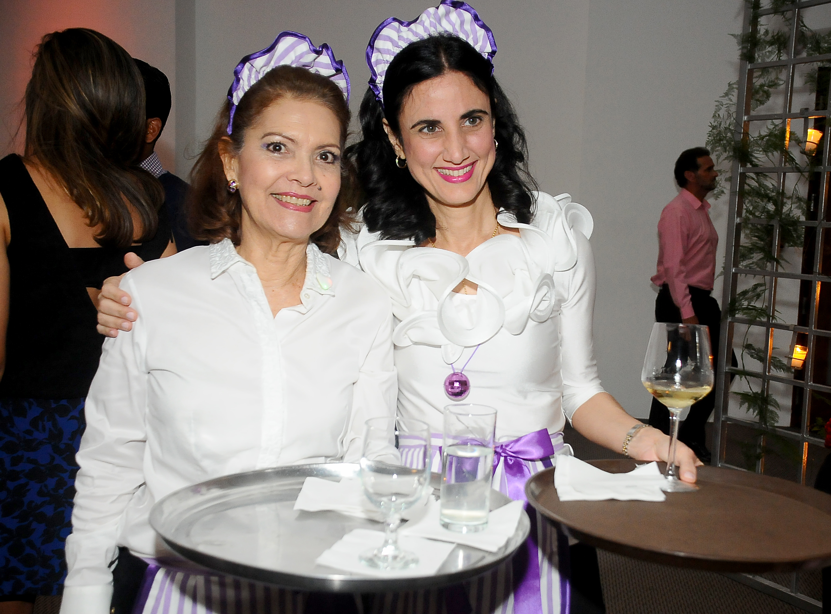 Violeta Rivas y Patricia Acra