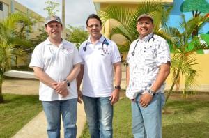 04.-Fausto Gómez, Pedro Ureña y Osiris Valdez