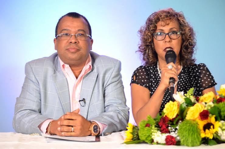 Euri Cabral y Zinayda Rodríguez