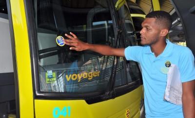 Inspectores de la OTTT verifican autobuses 3