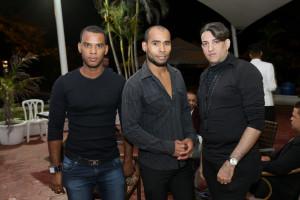 Willie Abad, Daniel Valerio y Socrates Cabral