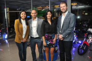 3.  Ruby Pichardo, Francisco Estepan, Patricia Cabrera y  Juan Fabian