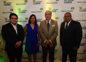 Alejandro Campo, Arelis Polanco, Felipe Mendoza y Orlando Rodríguez