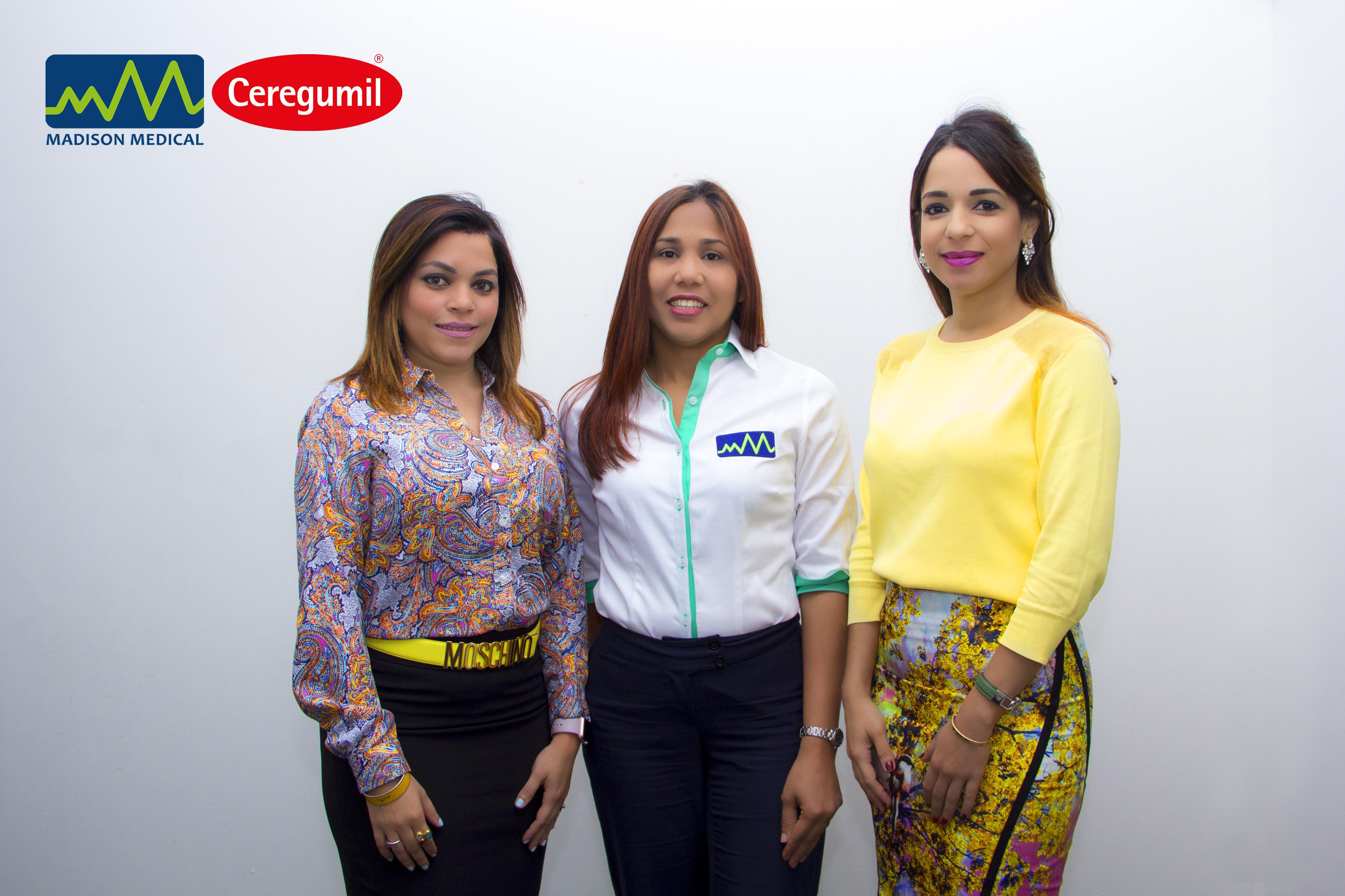 Carolina Acosta, Ruth Castillo y Cinty Acosta