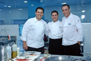 DSC_0726- Chef Luis Eduardo Ramos, Chef Cristian Shinya y Chef Juan Martinez
