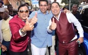 Emilio, DAvid Collado y Frederick Martínez El Pachá