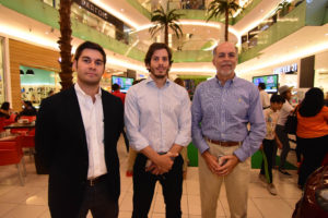 Mauricio Bogaert, Giancarlo Dipino y Ronald Dipino