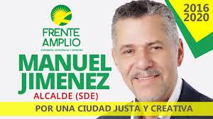 Manuel Jimènez en campaña