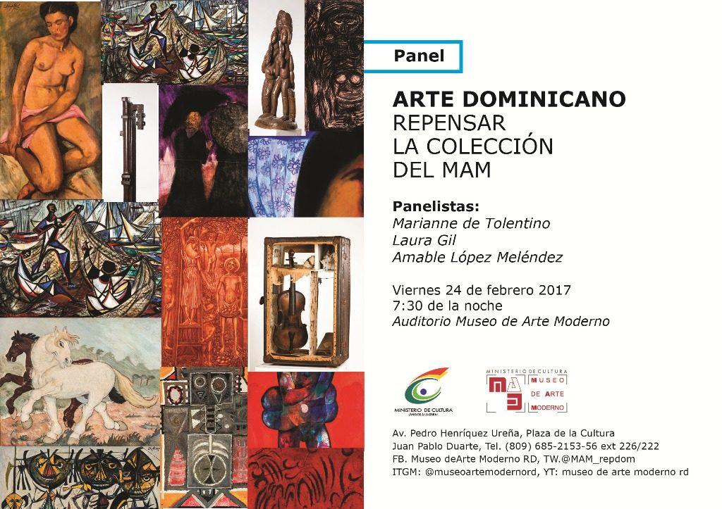 Invitación Panel Repensar la Colección del MAM 2017