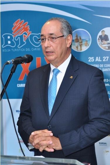 Luis Felipe Aquino, decano de Turismo de UNAPEC y presidente de la BTC