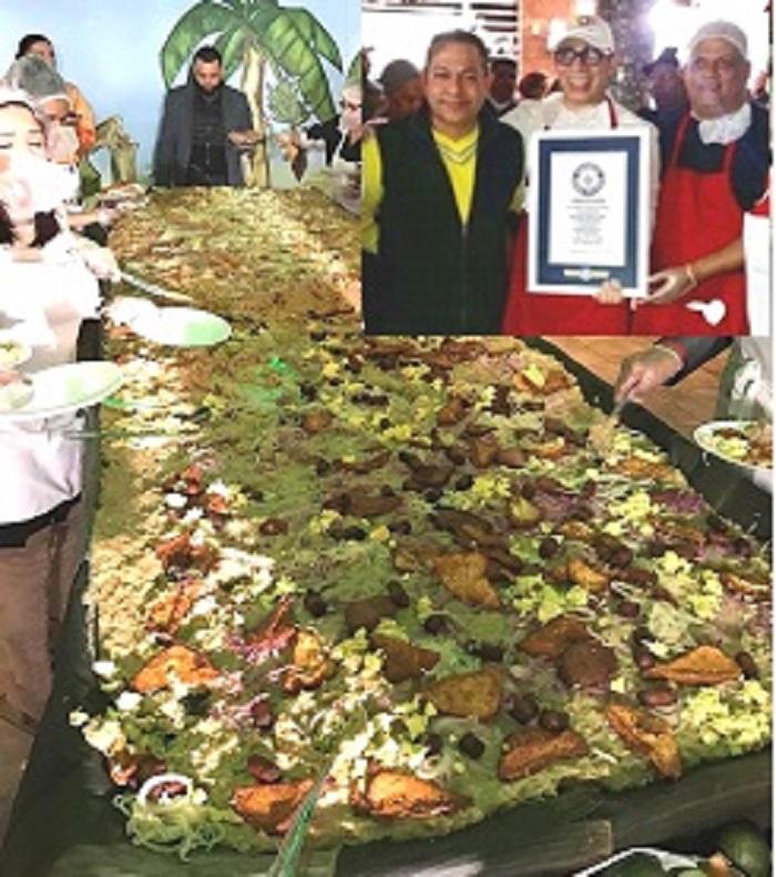 Dominicanos NY sorprenden al mundo haciendo el mangú más grande (1)