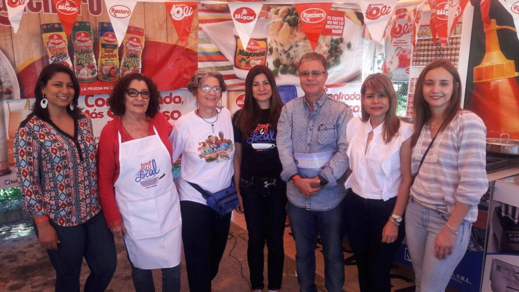 Luis Feliz llevó a la Feria el proyecto Apoyo a lo Local y mantuvo y mantuvo la gastronomía en primer plano