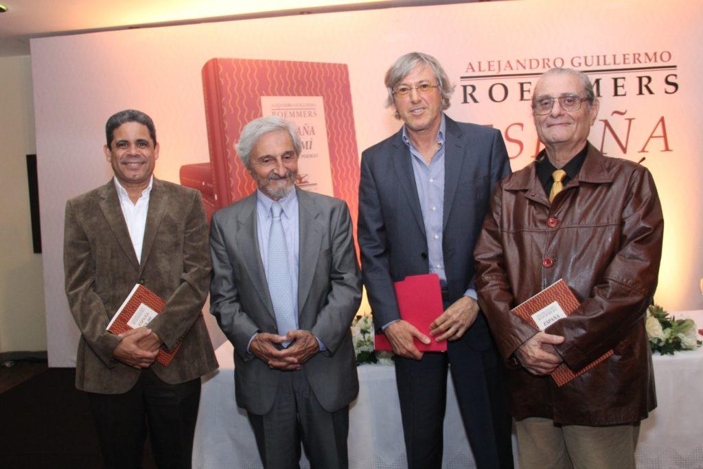 Pedro Antonio Valdez, Roberto Alifano, Alejandro Guillermo Roemmers y León David
