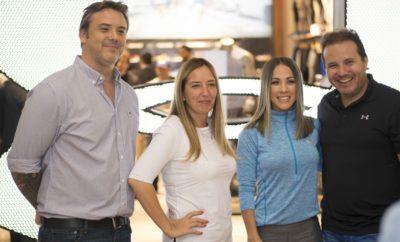Martin Geoffroy, Mariana Novillo, Karina Larrauri y Matias Meirino,