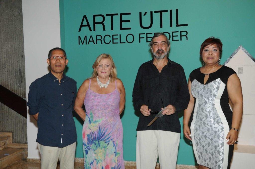 Amable López Meléndez, María Cristina Castro, Marcelo Ferder y María Elena Ditrén.