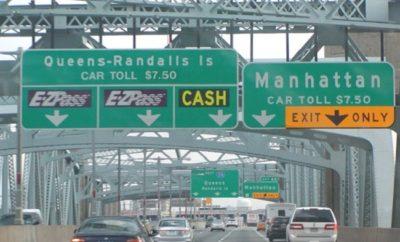 Eliminan definitivamente pago efectivo puente Triborough NY