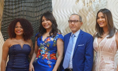 Chedy García, Ana Beato, Jovanny Beato y Luz García