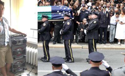 Dominicano dice odiar policía NY pone música alta cerca funeral velaron agente asesinada