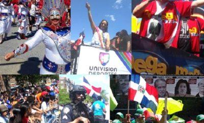 Miles asisten Parada Dominicana del Bronx, aunque menos que el año pasado