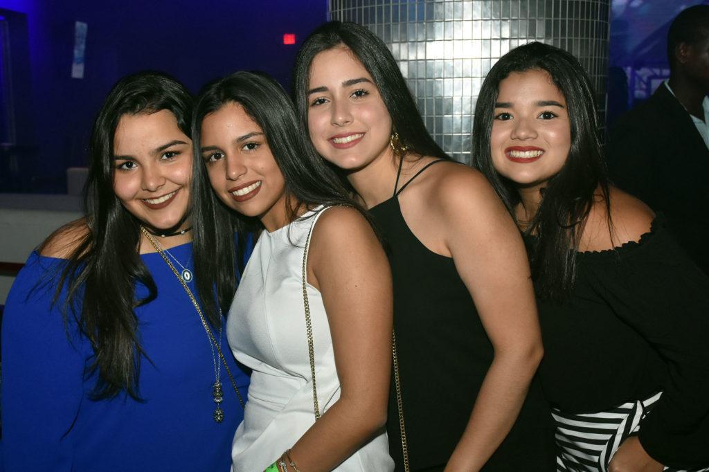 Maria Brea, Alexia Marcelina, Maria Jose Brea y Laura Gomez