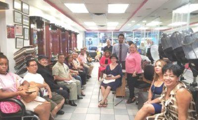 Propietarias de salones belleza apoyan a Abreu para concejal Bronx
