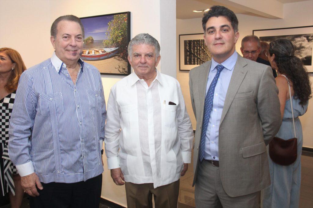Eduardo Selman, Abrahn Selman y Julio Cury