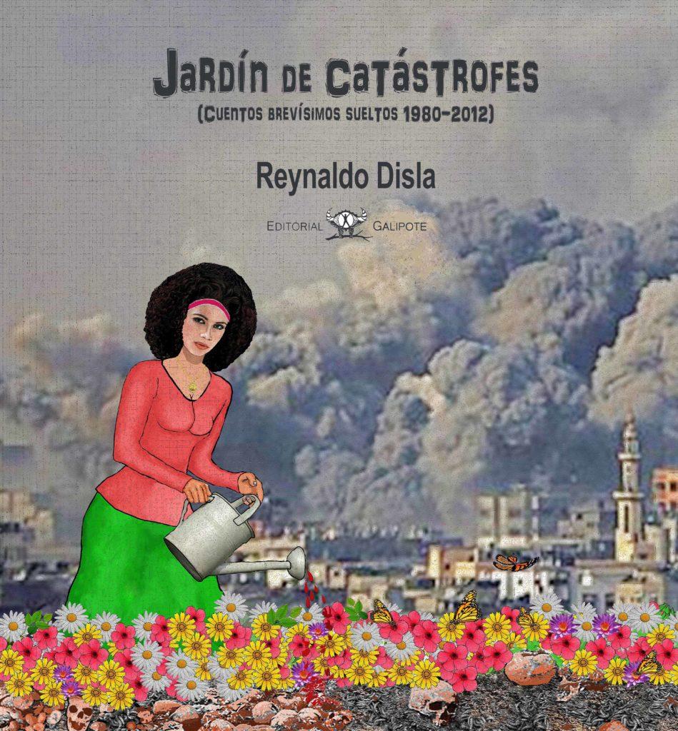 Portada libro Jardín de Catástrofes