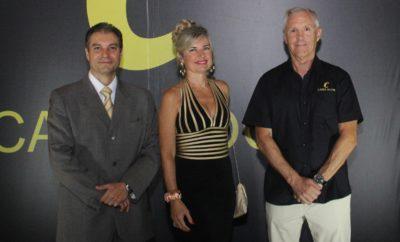 Juan Rojas, María Luisa de Rojas y Carlos Monserrat