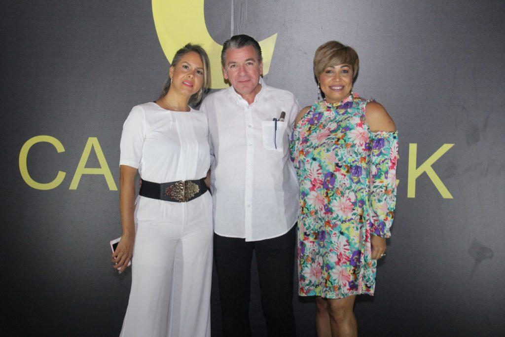 C. Crismalin Ortíz, José Alberto Espinal y Nilda Martinez