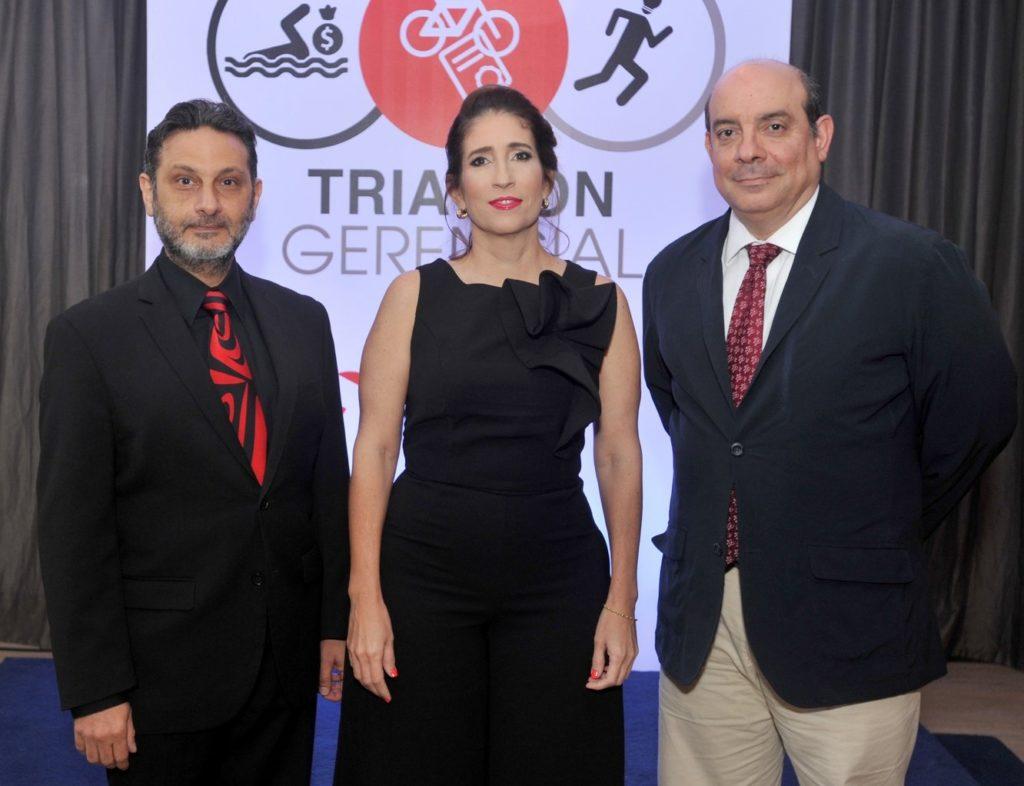 CARLOS YUNÉN, ROSARIO ARÓSTEGUI Y PAULO HERRERA