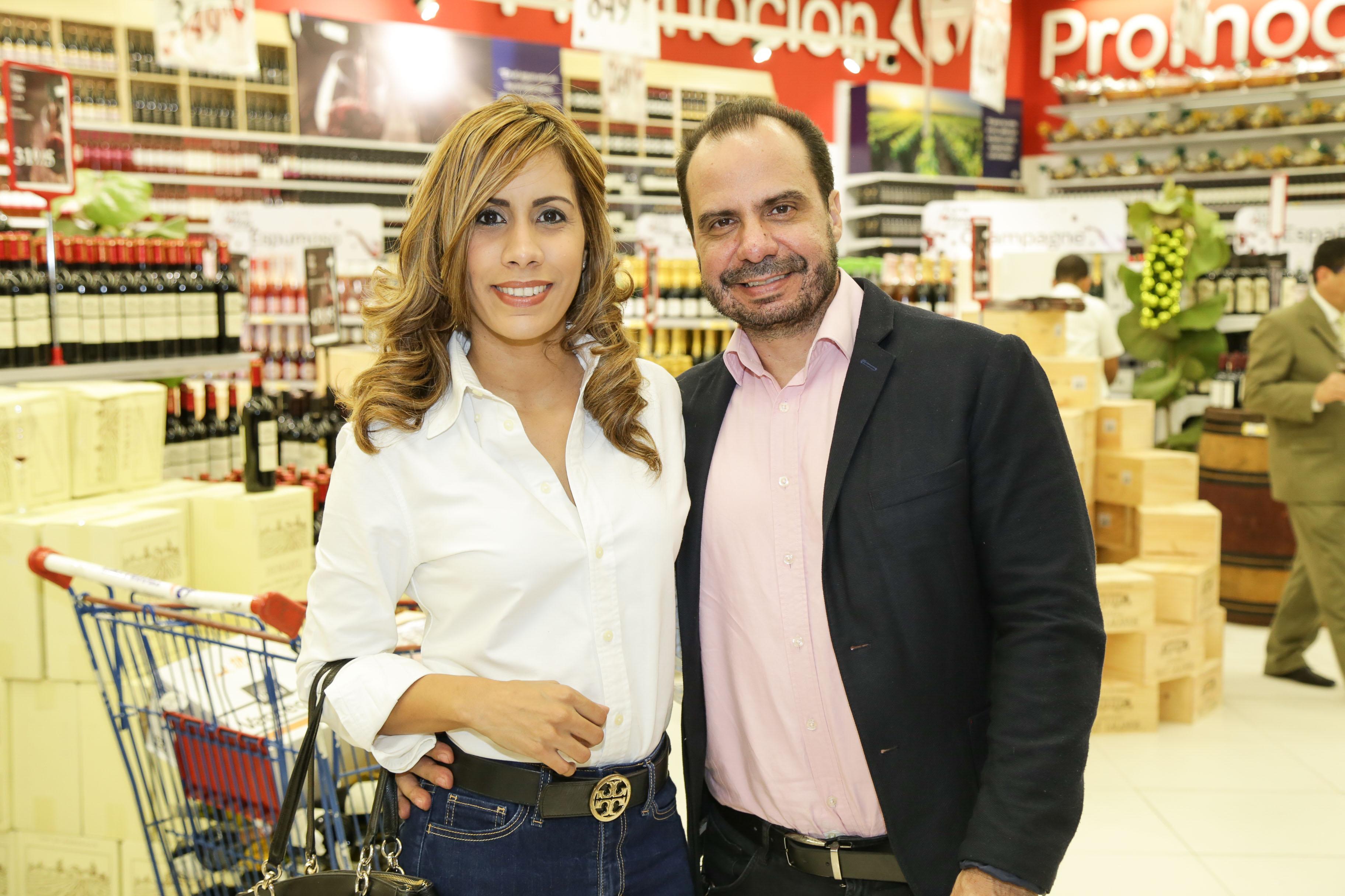 Celianna Brea y Juan Carlos Saavedra