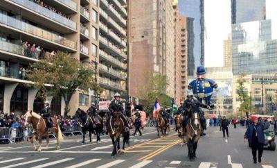 """Estremas medidas seguridad durante desfile """"Día de Acción de Gracias"""" en NY"""