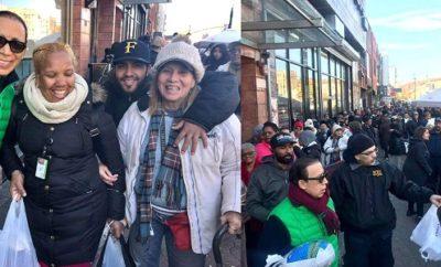 Fundación 809 dona miles de pavos en el Alto Manhattan